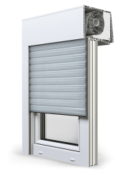 Roller shutter top-mounted OPOTERM