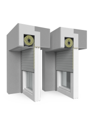Roller shutter Concealed QuadBox