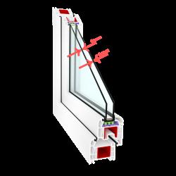 6 mm pane for single-chamber (double-glazed) windows