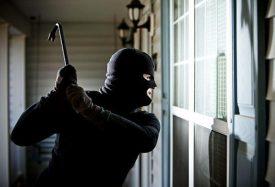 Anti-burglary pane for double-glazed windows
