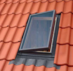 VLT 1000 – side-hung rooflight (hatch), for unheated rooms in the attic, with 16 mm thick insulated glass