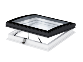 CVP 0673QV – window for flat roof, electrical open, anti-burglary glass P4A