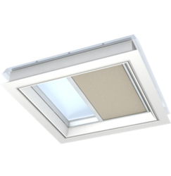 FMG 1016S – pleated electric roller blind