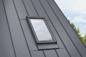 EDQ 0000 – single flashing, standing seal roofing