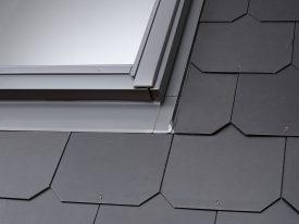 EBS 0021B – flat twin flashing, two windows side by side with 18 mm gap