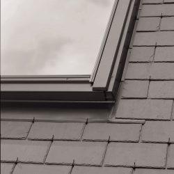 EBL 0021B – flat twin flashing, two windows side by side with 18 mm gap