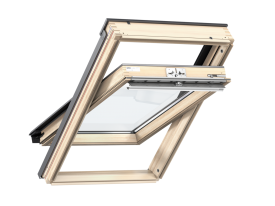 GZL S20001 – INTEGRA® Comfort Package (GZL 1051 + KMG 100K), wooden, top opening, double glazed, energy-saving pane, toughened glass, Uw = 1,3
