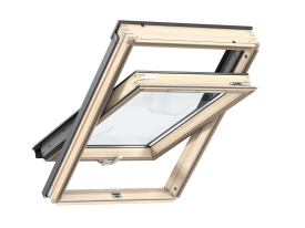 GLL S10J02 (GLL 1061B + EDJ + BDX F in the package) – wooden, bottom opening, triple glazed, energy saving pane, Uw = 1,1