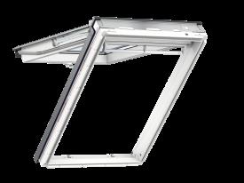 GPU 0068 – wooden-polyurethane, top-hung, triple glazed, super energy-saving pane, toughened and laminated glass P2A, Uw = 1,1