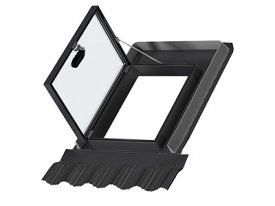 GVT 0059Z – side-hung outward-opening rooflight (hatch) for unhabitated places, with toughened energy-saving pane