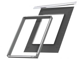 BDX 2000F – insulation collar, for recessed installation (BFX and drainage gutter in the set)