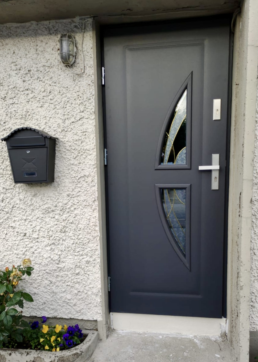 Steel door Finesse 5 realization